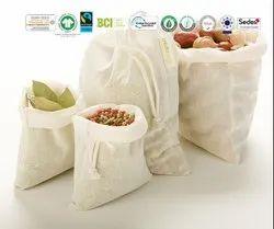 Natural Recycle Organic Cotton Natural Bag