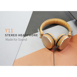 Brown Y11 Streo Headphone