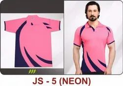 JS-5 Neon Polyester T-Shirts