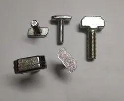 Power Tech Forge Aluminium profile T Bolt, Material Grade: SS 304, Ss 316, Packaging Type: Box