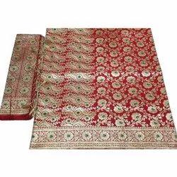 6.3m Weave Banarasi Satin Saree With Dupatta, With Blouse Piece