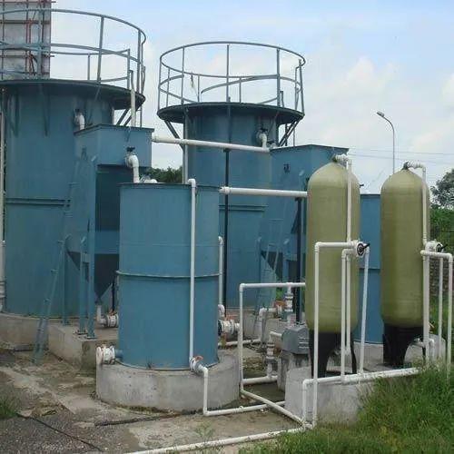 Mild Steel Automatic Effluent Treatment Plant