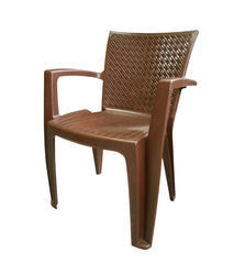 White And Yellow Standard Degree Chair, For Indoor And Outdoor