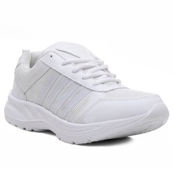 Mesh Sports Cosco-13 School Shoes, Lace-ups