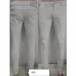 Carbonate Mens White Jeans