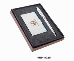 Silver 2 in 1 Executive Gift Set