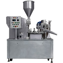Single Head Linear Tube Filling Machine