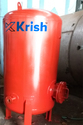 Red High Pressure Receiver Tank, Capacity: 5000-10000 L