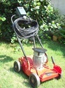 Benson Red 3 Hp Electrical Lawn Mower