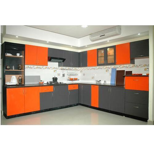 Modular Kitchen Accessories Price: Aluminium Modular Kitchen At Rs 450 /squarefeet