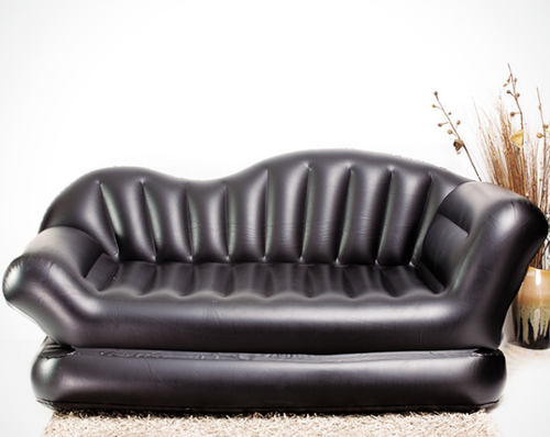 Black Air Sofa Bed 5 in 1