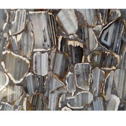Straight Line Agate Slab