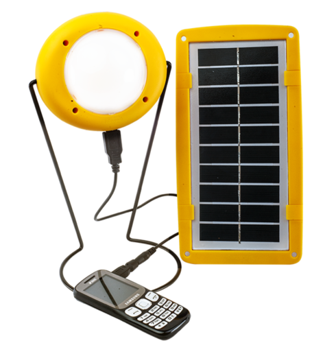 Plastic Solar Light Sun King Pro 200