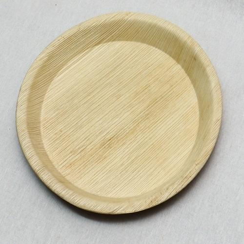 New 12 Inch Areca Leaf Plate at Rs 6.5 /piece | Areca Leaves Plates  EI41