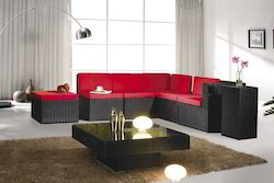 Rattan and Wicker Living Room Furniture Set