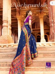New Kornard Silk Vol 2 BY Shangri Silk Sarees