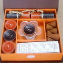 Incense Candles Box Orange