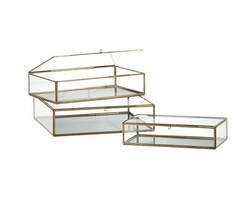 Glass packaging boxes