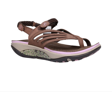 Hush Puppies Brown Flat Sandals For