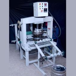 Fully Automatic Vertical Hydraulic Thali Making Machine