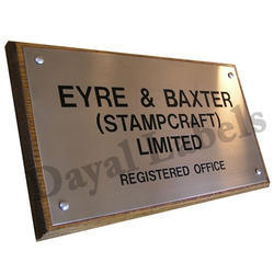 Stainless Steel Label Nameplates