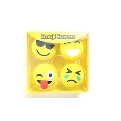 Emoji Eraser Set For Kids