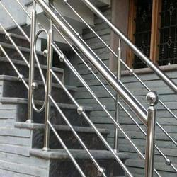 Silver Bar Designer Stainless Steel Railing Rs 850 Feet Id