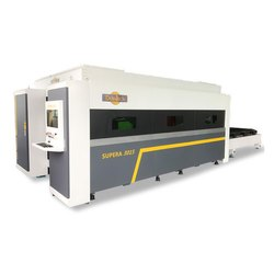 Supera Deratech CNC Fiber Laser Machine