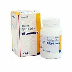 100 Mg Ritonavir Tablets IP