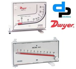 Dwyer Mark II Model 700 Pa Manometer 10-0-700 PA