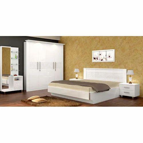 White Bedroom Furniture Sets Rs 89500, White Bedrrom Furniture
