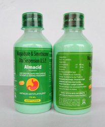 Almacid Brand Magaldrate And Activated Dimethicone Oral Suspension, For Hospital, in Pan India