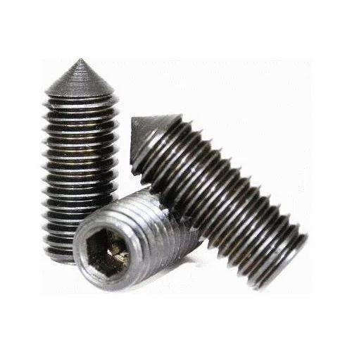 DIC Cone Point Grub Screw, Size: 2-16mm, Rs 1 5 /piece Deepak Industrial  Corporation | ID: 18969417933