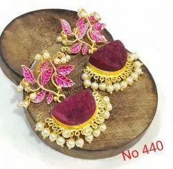 Flower Duzhi Earring