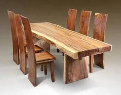 Wooden Dining Table Set in Jaipur, Rajasthan | Wooden Dining Set ...