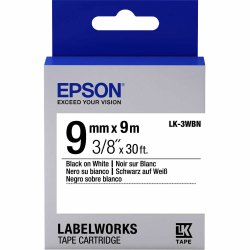 Epson LK-3WBN Tape