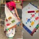 Kalamkari Cotton Printed Saree