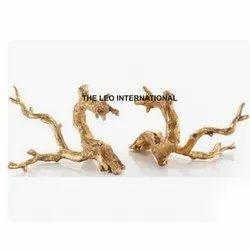 Metal Branch Sculpture