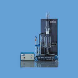 Borosil Single Phase Mono Quartz Distillation Unit, For Laboratory, Capacity: 2.5 L/Hr