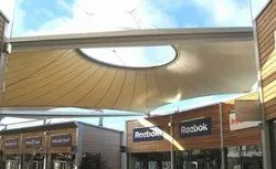Shopping Mall Tensile Structure