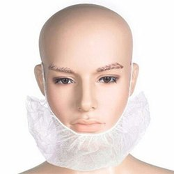 Non Woven Disposable Beard Mask, Size: Free Size