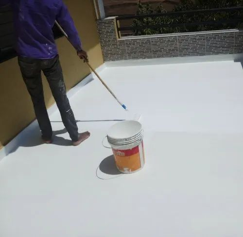 White Urethanes Polyurethane Waterproofing Coating Service, Packaging Type: Plastic Bucket