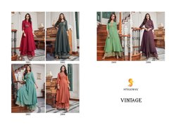 Vintage Vol-1 Sajawat Party Wear For Ethnic Designer Readymade Collection