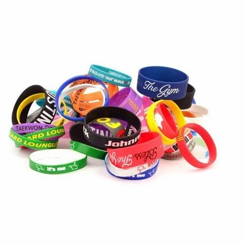 Nerdygo Hands Silicone Wrist Bands, Packaging Type: Plastic Bags