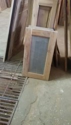 Sagwan Wood mosquito mash window, Size/Dimension: 12*32