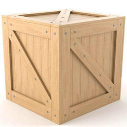 Export Pine Wood Box , Box Capacity : 1-200 Kg