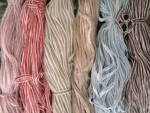 Jute Wax Cords OR Flax Cord - Flax- Linen Laces Manufacturer