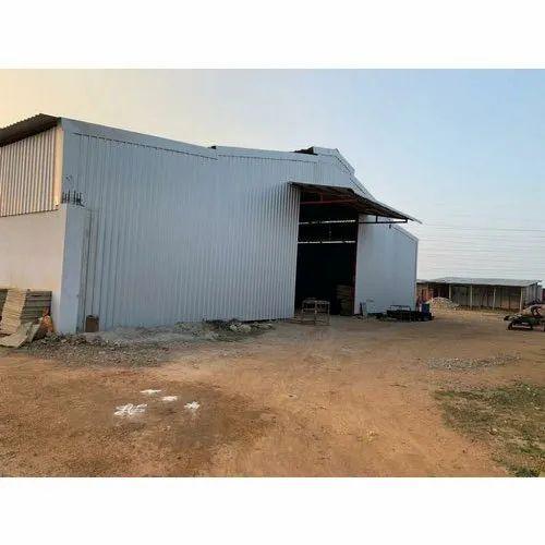 Steel Prefab Light Prefabricated Warehouse Sheds
