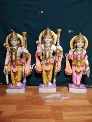 Shri Ram Darbar Marble Idols