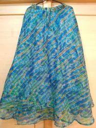 Printed Quota Doriya Skirt